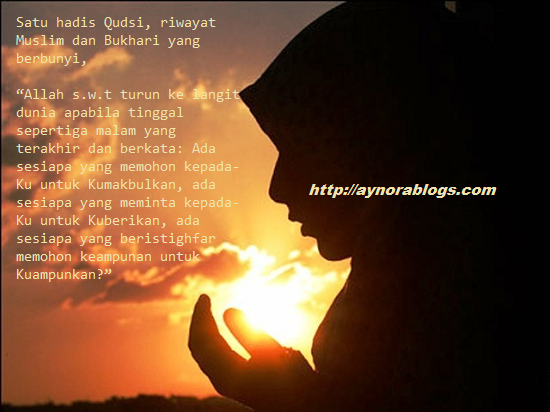 Cari Masa Sesuai Doa Mustajab