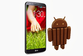 LG G2 will officially get the KitKat update by the end of January