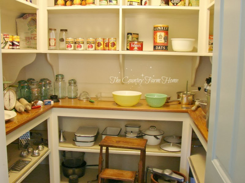 The Country Farm Home A Butler 39 S Pantry And A Kitchen Pantry At Bassett