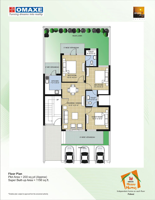Happy Homes Floor Plan