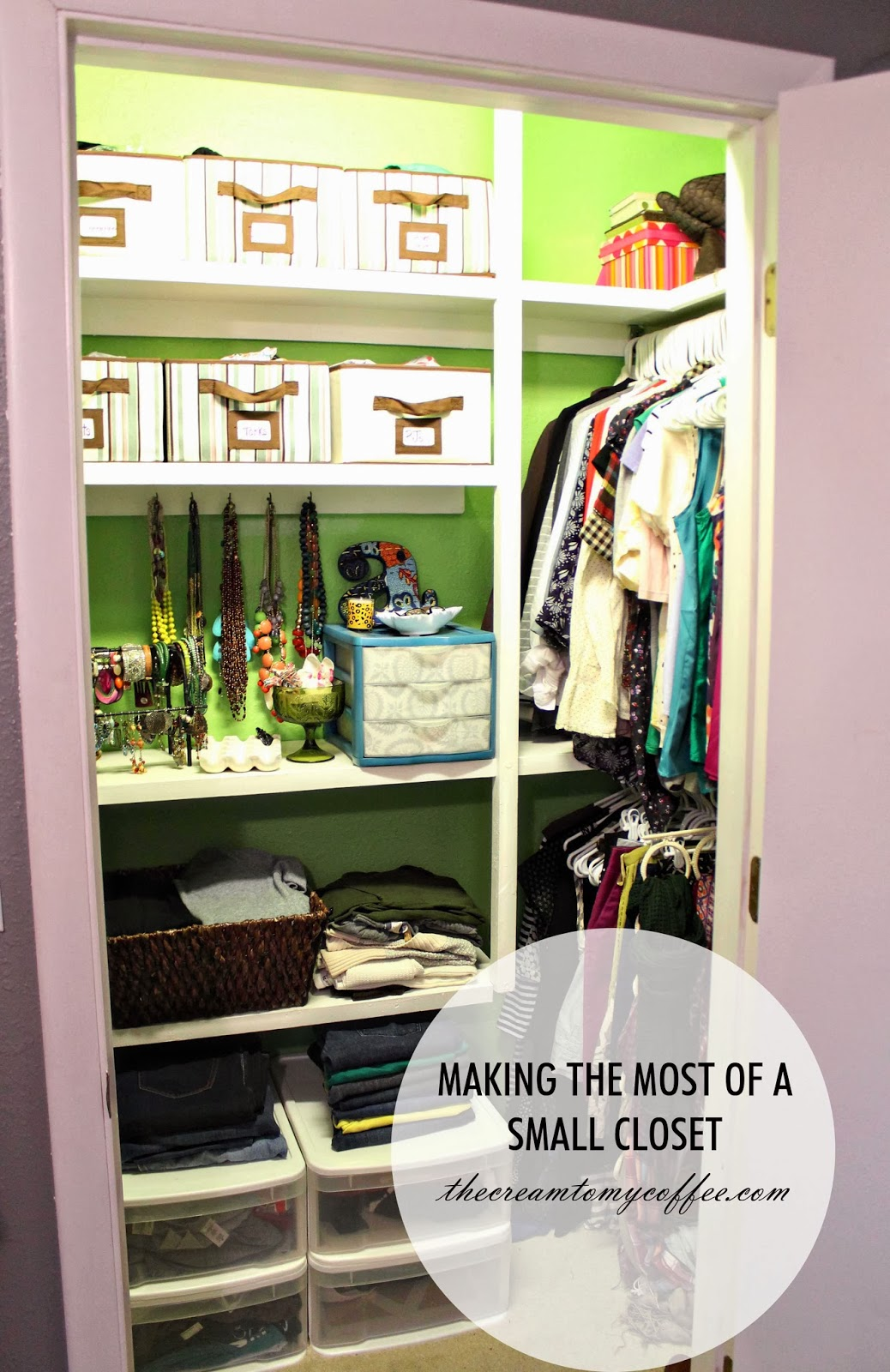 Every closet and it's storage needs are different, but there are basic steps that can be taken to make the most of your small space. 1. First things first – clean out your closet.