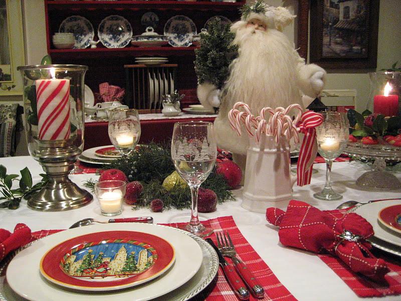 Decoraci n navide a de la mesa decoraci n - Decoracion navidena para la mesa ...