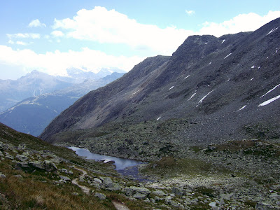 Tarn on the Augstbordpass
