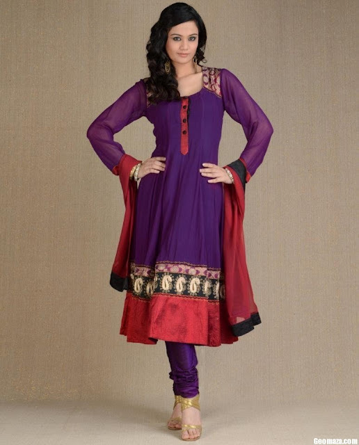 Anarkali-Churidar-Suit