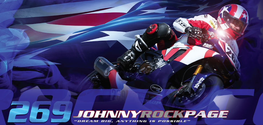 Official Site of Johnny Rock Page - MotoAmerica Speedbike Racer  | JohnnyRockPage.com