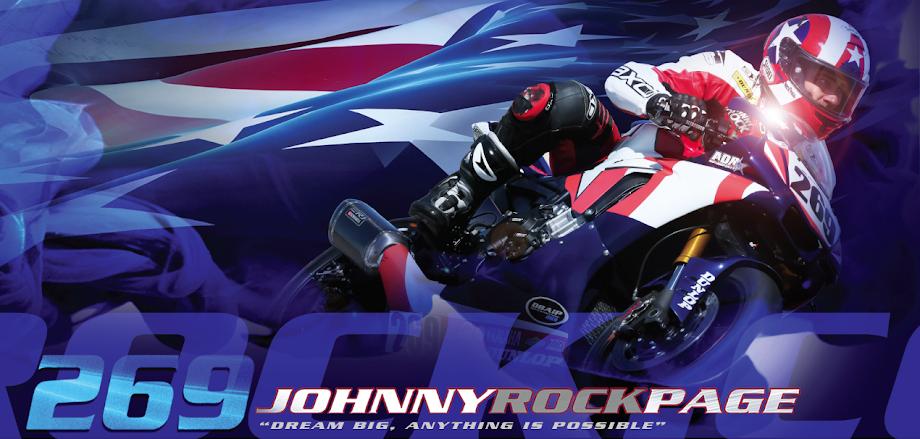Official Site of Johnny Rock Page - MotoAmerica Speedbike Racer  | JohnnyRockPage.com