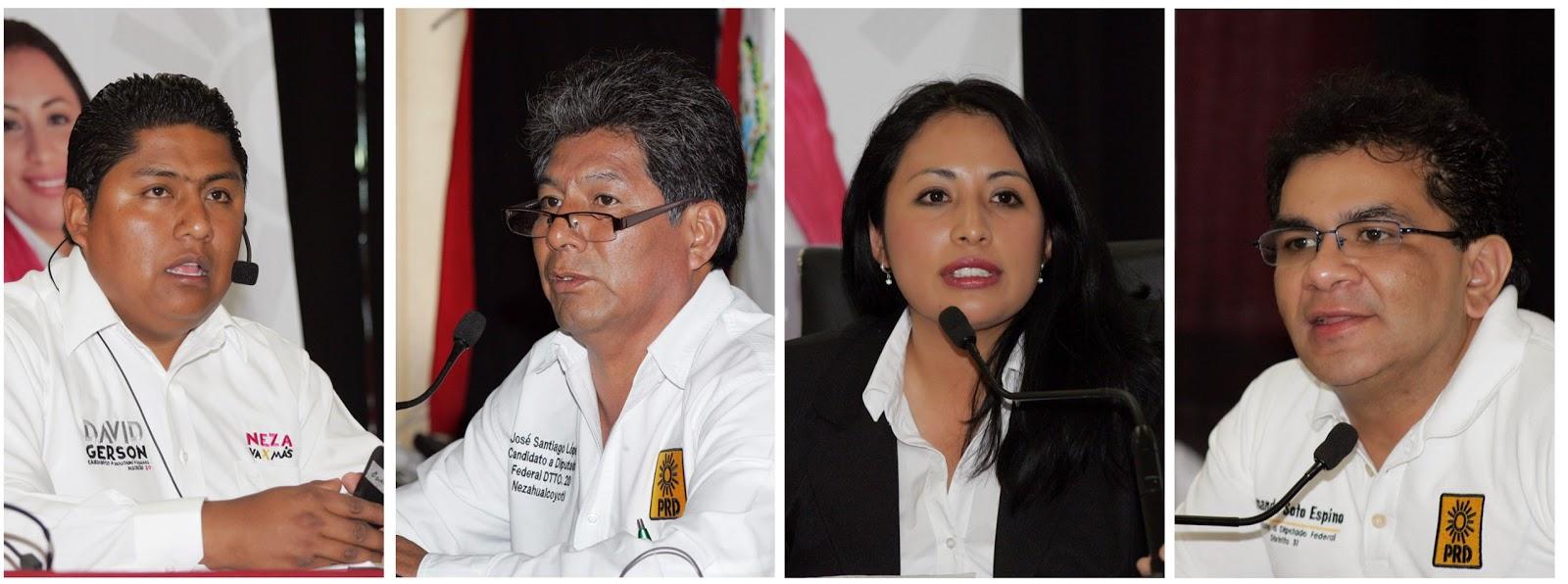 Imagen de Candidatos a diputados federales proponen acabar con la impunidad