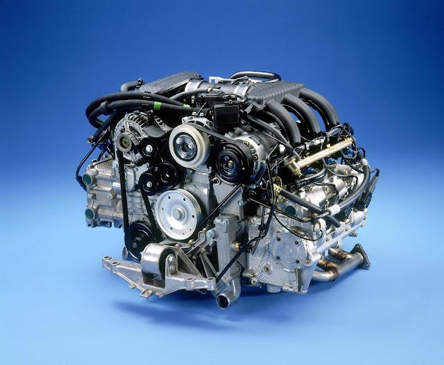 2.5-litre flat-six engine; Porsche Boxster (986); 1997