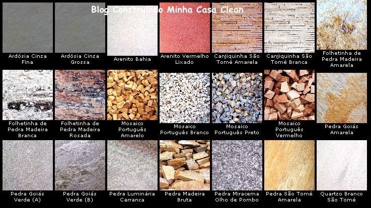 Construindo Minha Casa Clean: Paredes com Pedras ...