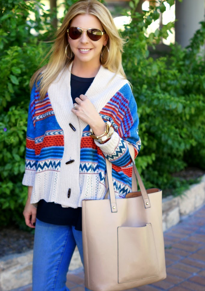Lookbook Aspen Fair Isle Oversized Sweater