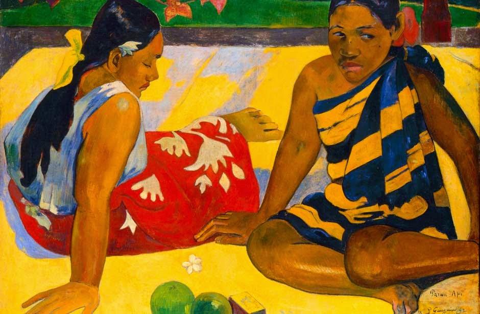 Gauguin - Parau api, (Quelles nouvelles?), 1892