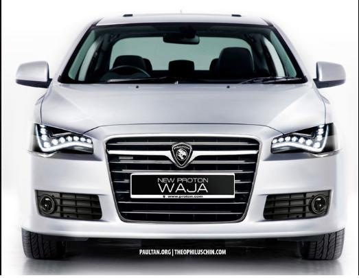 PROTON WAJA LED AUDI LAMP