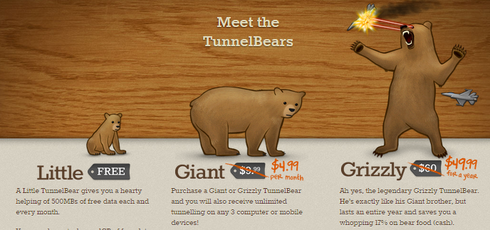 Tunnel Bear