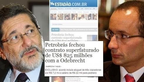Petrobras teve contrato superfaturado com a Odebrecht
