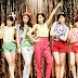 T-ara and their colorful Roly Poly Wallpapers