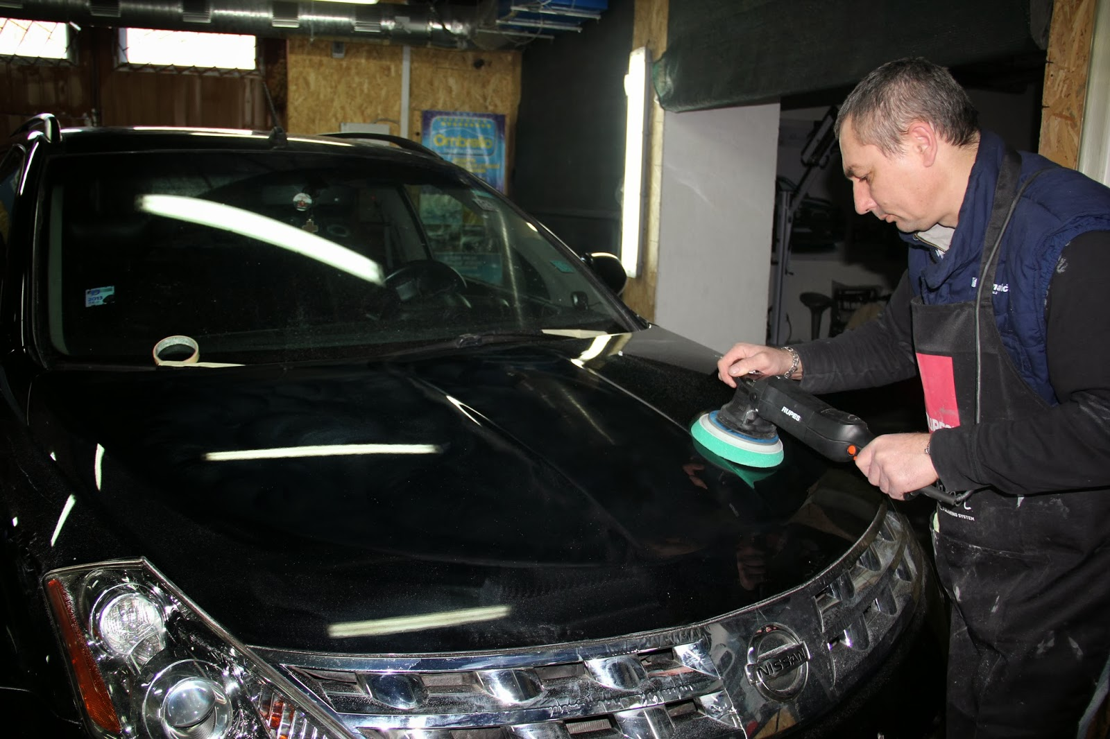 Полировка машины без машинки