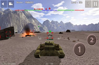 Screenshots of the Armored forces: World of war for Android tablet, phone.