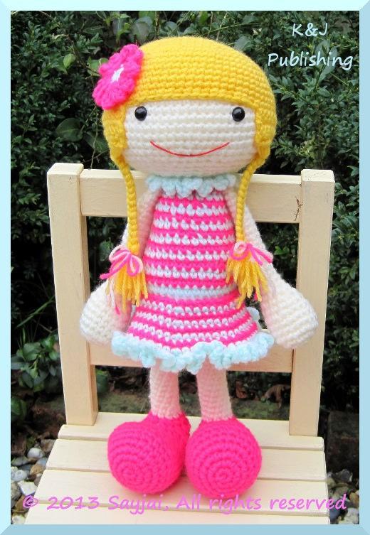 huggy izzy amigurumi crochet pattern sayjai amigurumi crochet patterns k and j dolls k and. Black Bedroom Furniture Sets. Home Design Ideas