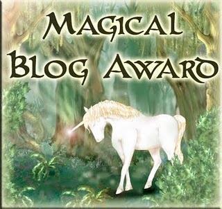 a magical award from natasa!