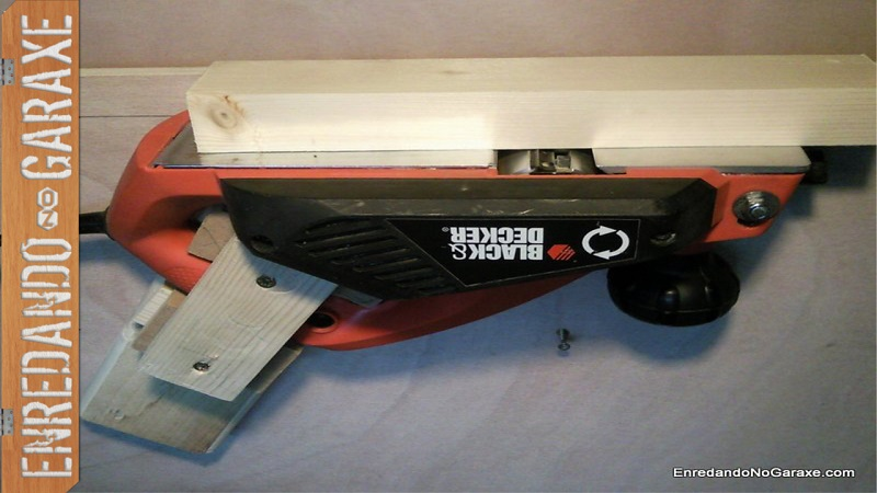 How to make a jointer with your electric hand planer, enredandonogaraxe