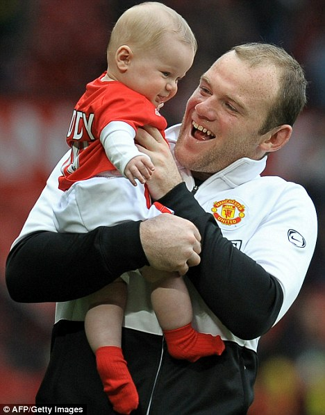 Wayne Rooney Child