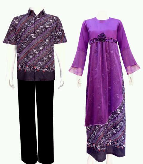 Model Baju Gamis Batik Terkini Grosir Batik Pekalongan
