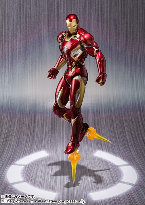 action figure iron man mark 45 the avengers