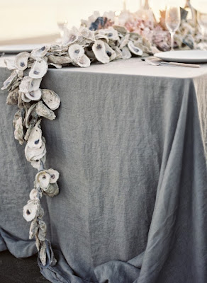 oyster shell decor