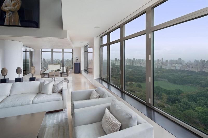 Hogares frescos exclusivo tico d plex en manhattan - Immobilier de luxe penthouse manhattan ...