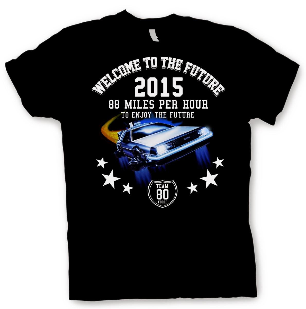 Camiseta Regreso al Futuro 2 2015