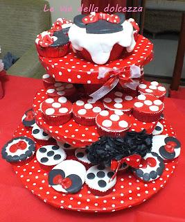 Cup-cake ispirati a Minnie