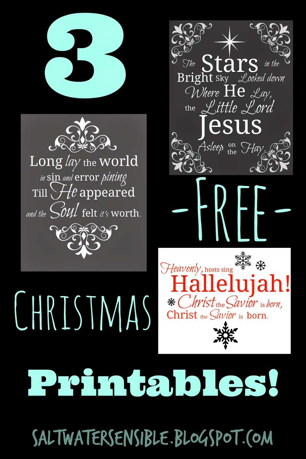 Three Free Christmas Printables