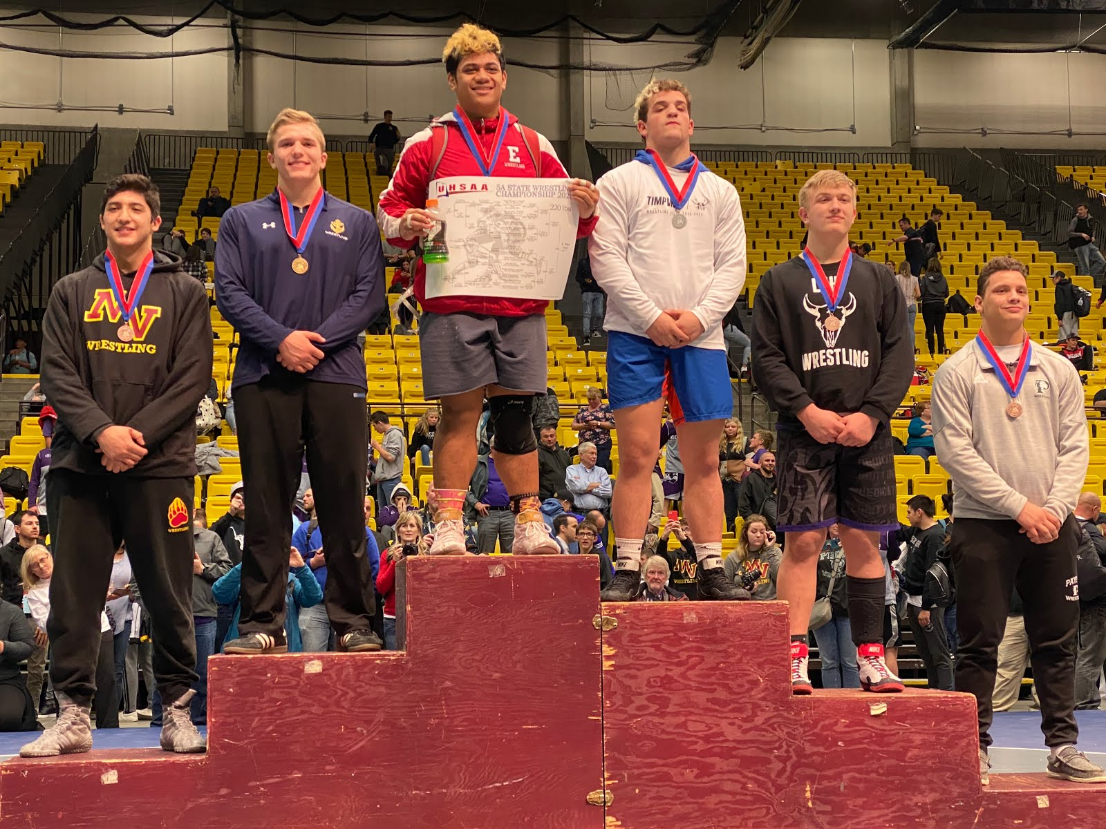 5A 220 – Harrington Ray (35-13) placed 4th