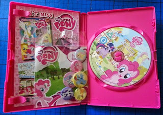 My Little Pony: Friendship Is Magic - Baby Cakes DVD free badges