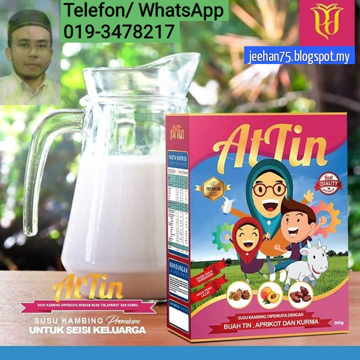 Dapatkan Susu Kambing At-Tin Sekarang (RM49 Sekotak)