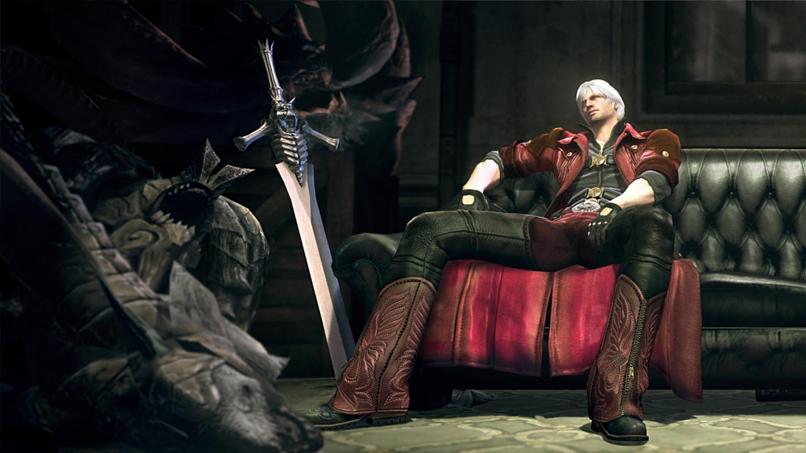 Devil May Cry 5 Dante Mystery Wallpaper