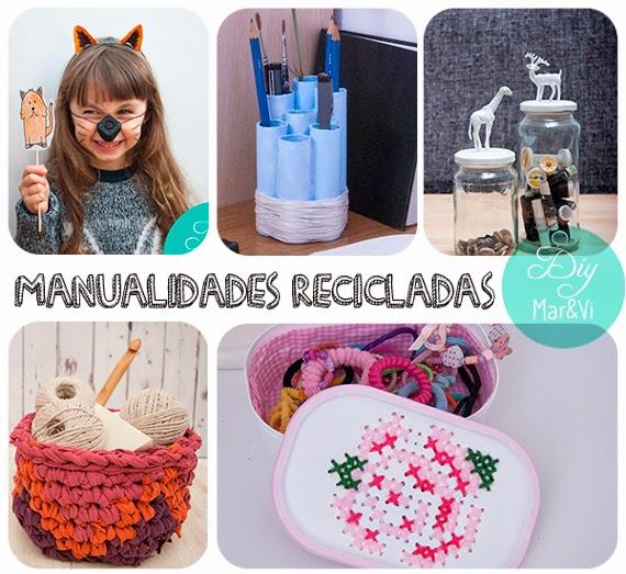 Manualidades Con Objetos Reciclados Faciles Decoracin Del Hogar