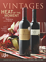 Cover page for April 14 LCBO Vintages release