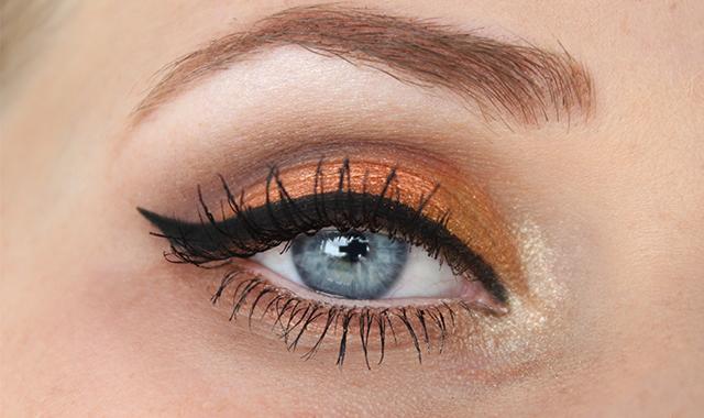 líčení, makeup, letní líčení, oranžové líčení, oranžový makeup, oranžové letní líčení, bhcosmetics, galaxy chic,
