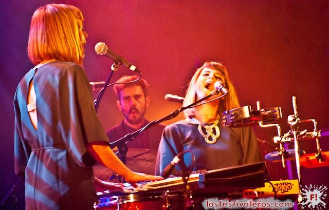 Lucius en el Festival des Inrocks Le Bikini Toulouse
