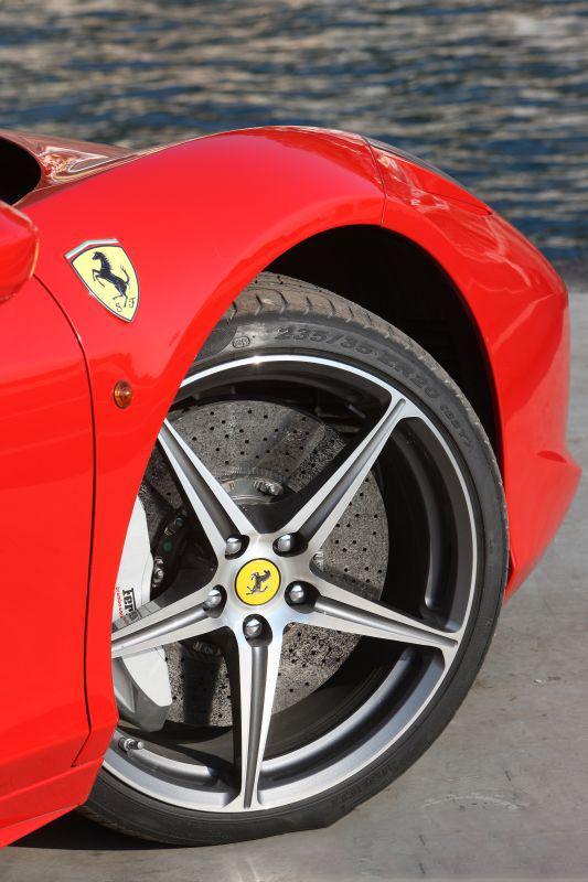 car in ferrari-458-italia