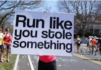 Run like you stole something!