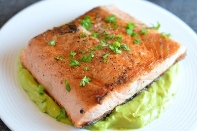 ... Savvy Kitchen: Pan Seared Salmon with Avocado Remoulade (Gluten-Free