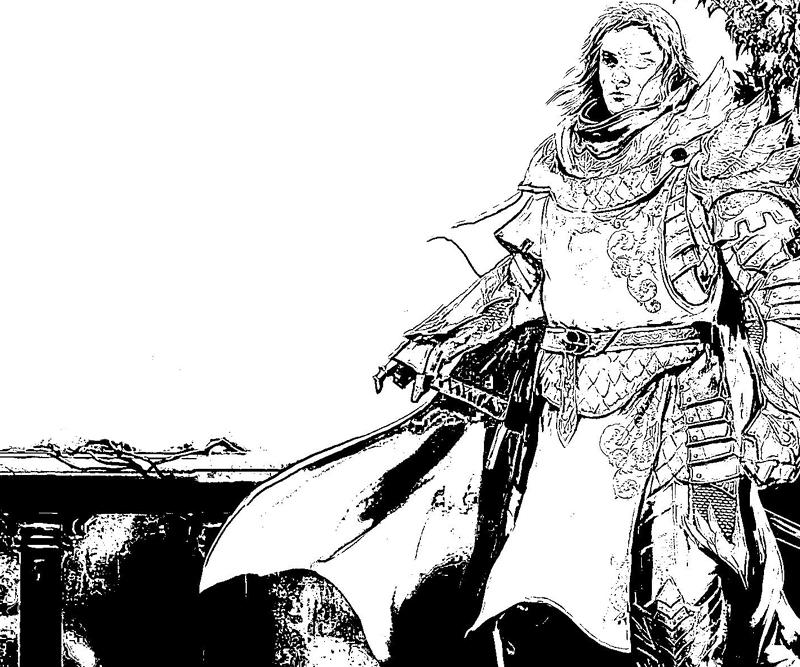 printable-guild-war-3-warrior-male-coloring-pages