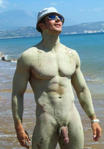 Men Naked Mud Baths