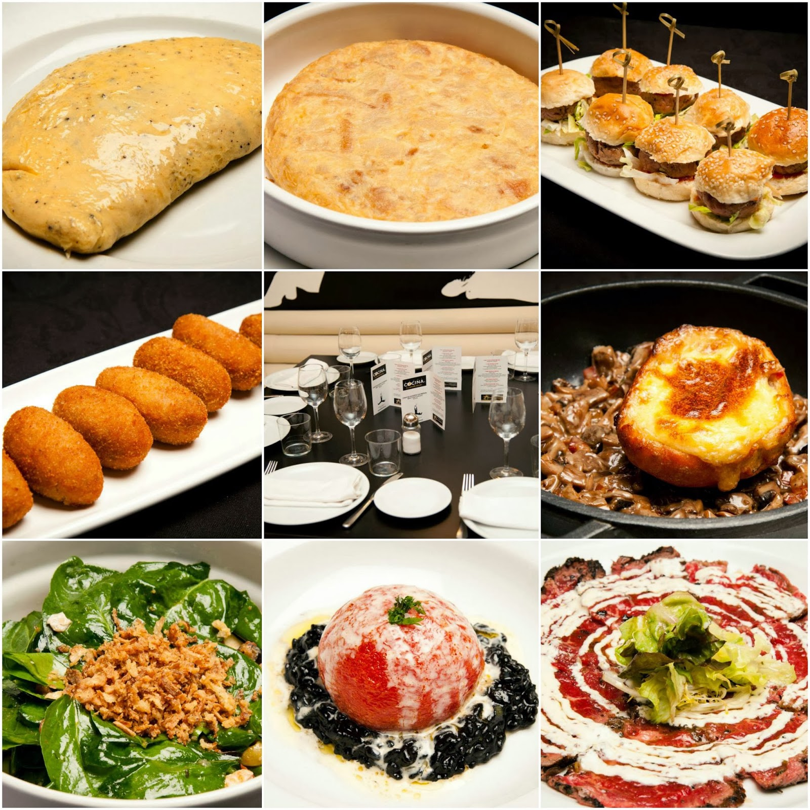 Cena de blogueros cocineros 2013 canal cocina for Cenas frias canal cocina