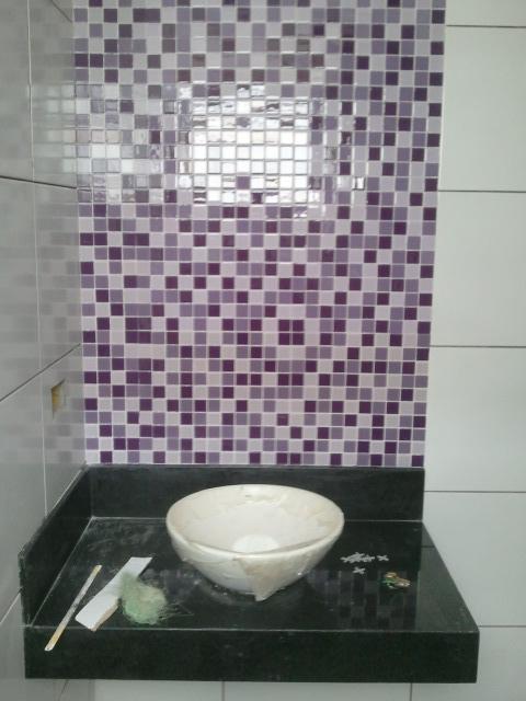 Reforma Urgente!!! Banheiro da suíte  de cara nova -> Cuba Para Banheiro Na Ferreira Costa