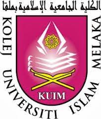 Jawatan Kerja Kosong Kolej Universiti Islam Melaka (KUIM) logo