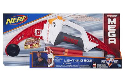 TOYS : JUGUETES - NERF N-Strike Elite Mega Lightning Bow | Arco Producto Oficial 2015 | Hasbro A6276 | A partir de 8 años Comprar en Amazon España & buy Amazon USA