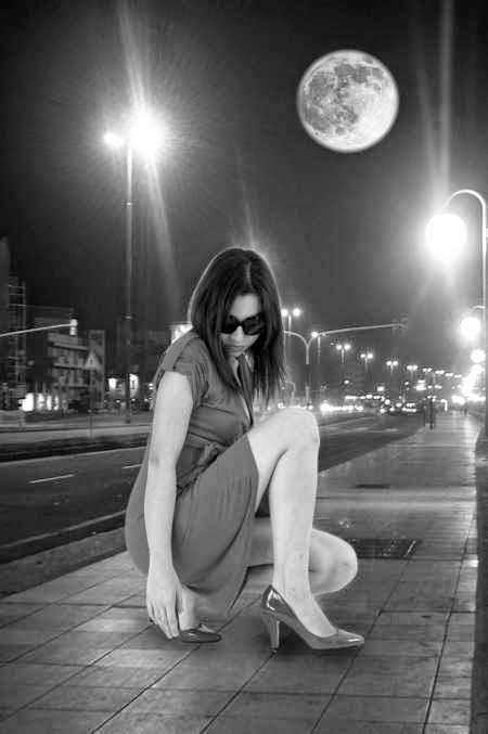 single woman